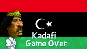 Kadafi Game Over by Aminebjd