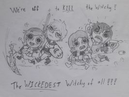 We're off to kill the Witchy! by ejaylee
