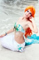 Seafoam mermaid 2 by Official-AmyFantasy