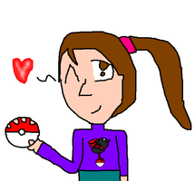 pokemon and me lol by noodley
