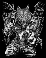 werewolf by rheen