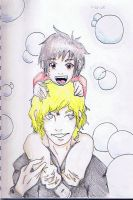 Akio and his Father by GaaraOwnsYouAll
