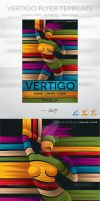 Party Flyer Template Vertigo by AndretiDesign