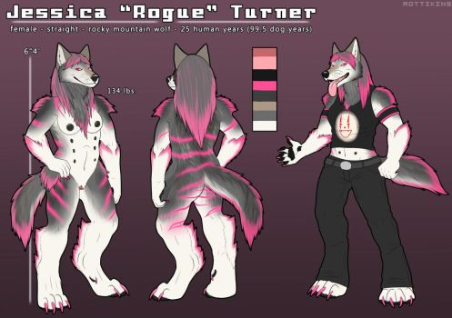 [Mature] Jessica's Full Reference Sheet by AtlasTheSahuagin