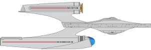 Uss Endeavour Ncc-1677 by Lookatmyamazingshoe