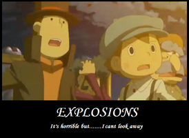 prof.layton motivational poster by Chief-of-Blaze