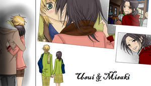 Usui and Misaki by CopyCat000