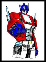 Optimus Prime by xyxuz