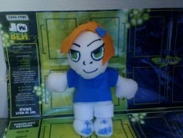 Ben 10 Gwen Plushie Prototype by invader-hime