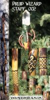 Druid Wizard Staff 02 by MerlinOfManitou