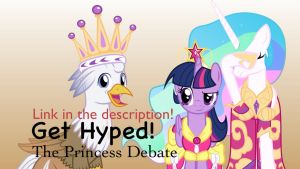 Get Hyped: The Princess Debate by MLP-Silver-Quill