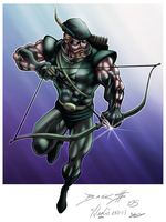 Green Arrow by Ironcid