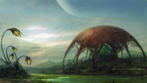 Alien world by Edli