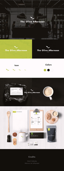 The Olive Afternoon - Logo Design by MarkARTGD