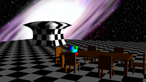 Cosmic Dining Room 3 by smawzyuw2