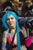 Jinx cosplay by Cinnamon-Cosplay