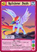Rainbow Dash - mlpminis profile card by MLPMinis