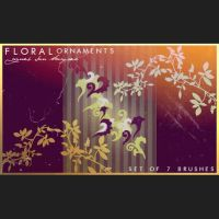Floral Ornaments Brushes by analeewon