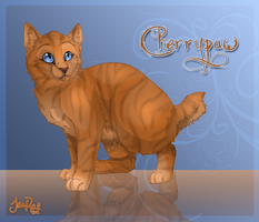 Cherrypaw of ThunderClan by xxMoonwish