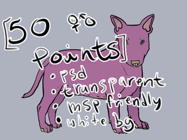 Bull Terrier Base by Pred-Adopts