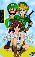 Top 3 Nintendo's boys by Princesa-Daisy