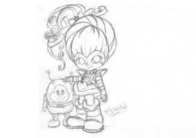 Rainbow Brite and Twink by Cookiepoppet