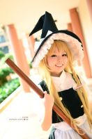 Touhou Project, Marisa: The Witch by cure-pain