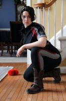 Katniss Everdeen Cosplay Test 2 by moonflower-lights