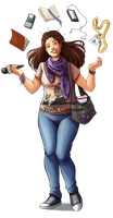 Commission - Chiara full body by Aleccha