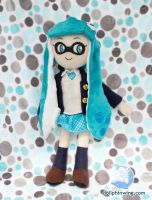 Inkling Girl Plush Doll by dollphinwing