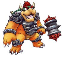 Skylanders Bowser by t-bone-0