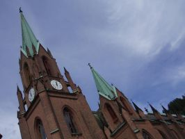 The Church in Drammen 04 by NenjasStock
