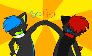 BRO FIST by Chiiboo