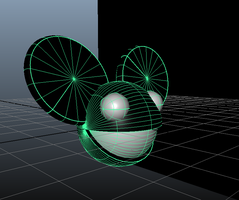 Deadmau5 3D Logo MAYA MODEL DOWNLOAD (.mb) by Bohnenstein