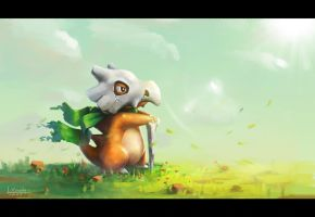 Cubone by Mummy-fei