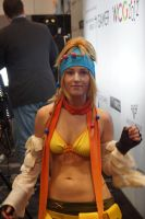 NYCC 2012 - Rikku - Final Fantasy X-2 1 by kamau123
