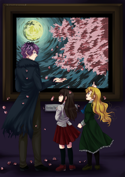 Fleeting Thoughts on a Moonlit Night by lucrecia