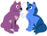 : DONATOR PRIZE : CuteToboeWolf - Who are you? by Chumi-chan