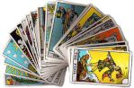 Commission- 3 card spread w/ The Rider-Waite Deck by CalicoWoolfe