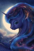 Luna Portrait by blueSpaceling