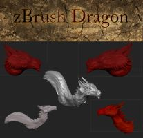 zBrush Dragon by SunStateGalleries