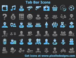 Tab Bar Icons with Source ... by shockvideo