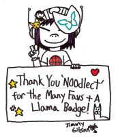 Thank You Noodlect! by CelmationPrince