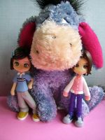 Eeyore and Pinky St by Sofairy536