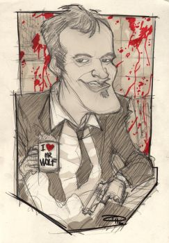 Quentin Tarantino by DenisM79