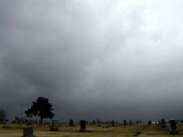 Graveyard Cloudy Day 3 by DarkMaiden-Stock