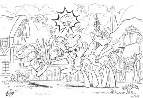 Muffin Head Busters by Jowybean