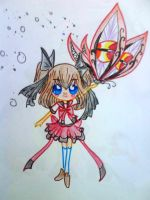 Ayumu and Cursed Butterfly by Charming-Manatee