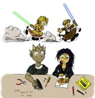 Younglings Play Time by RadStratRadar