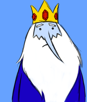 The Ice King by paronomasial